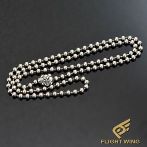 【NEW】60㎝ 4㎜ Stainless Ball Chain / BWL Bill Wall Leather