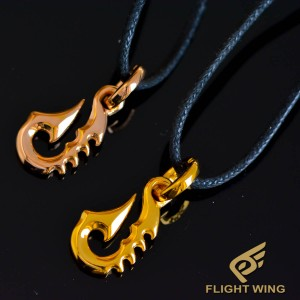 【NEW】Gold Plated Fish Hook / BWL Bill Wall Leather