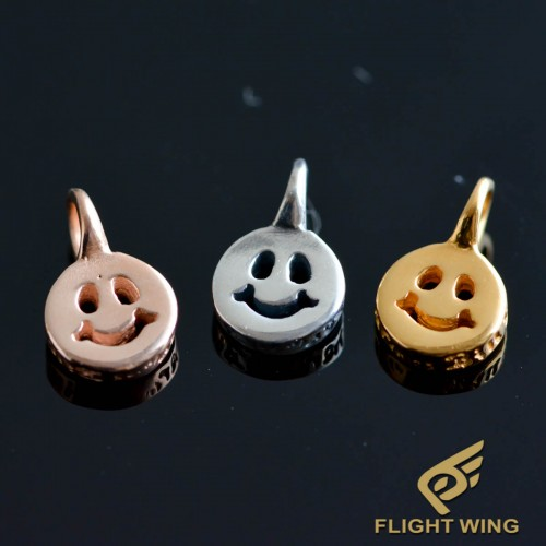 【NEW】Happy Face Charm / BWL Bill Wall Leather