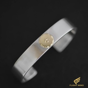 【used】Flat Out Bracelet with K18 Metal (M) / Goro's 高橋吾郎