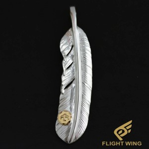 【NEW】Extra Large Feather with K18 Metal Right / Goro's 高橋吾郎