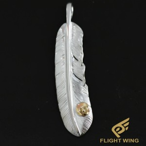 【NEW】Extra Large Feather with K18 Metal  Left / Goro's 高橋吾郎