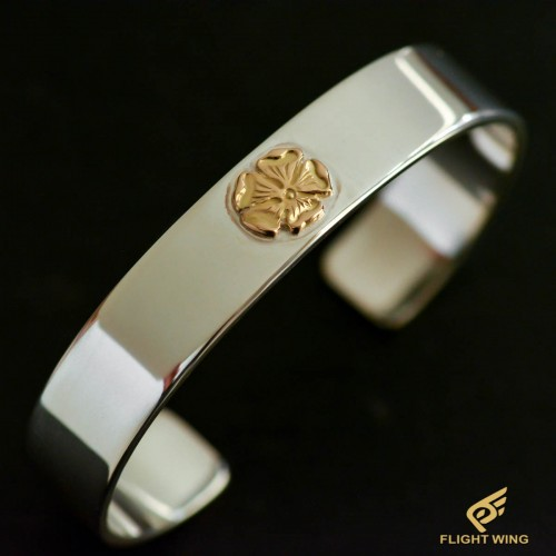 Flat Out Bracelet with K18 Rose Metal (M) / Goro's 高橋吾郎