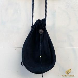 【used】Custom Drawstring Bag Black (M) / Goro's ゴローズ