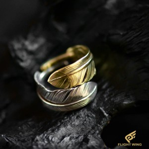 【used】Combination Feather Ring  (#16) / Goro's 高橋吾郎