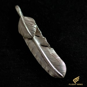 【used】Extra Large Feather with SV Heart Left / Goro's 高橋吾郎