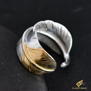 【used】Sakikin Feather Ring (#21) / Goro's 高橋吾郎