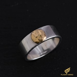 【used】Flat Out Ring with K18 Metal (#23) / Goro's 高橋吾郎