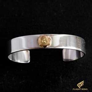 【used】Flat Out Bracelet with K18 Metal (L) / Goro's 高橋吾郎