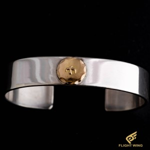 【used】Flat Out Bracelet with K18 Metal (S) / Goro's 高橋吾郎