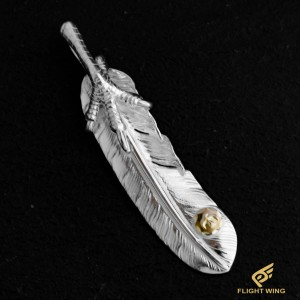 【NEW】Extra Large Feather with SV Claw Left / Goro's 高橋吾郎
