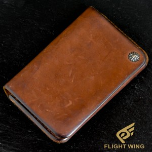 【used】Card Case with SV Concho Light Brown / Goro's 高橋吾郎