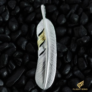【NEW】Point K18 SV Plain Feather Extra Large Right / La Key