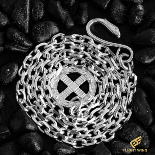 【NEW】SV Eagle Hook & SV Arabesque Wheel Chain 50㎝ / LA KEY