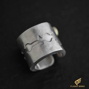 【NEW】Kamisori Ring and K18 Metal (#15) / Stop Light