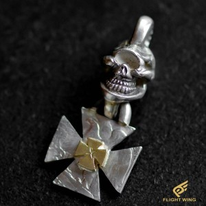 【NEW】Skull Iron Cross Top , K18 Iron Cross / Stop Light