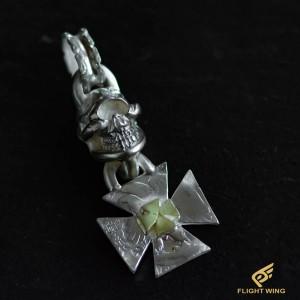 【NEW】Skull Iron Cross Top K18 Iron Cross / Stop Light
