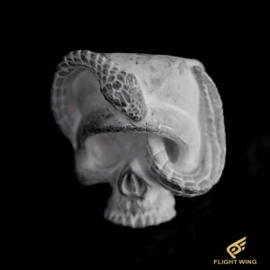 【NEW】Skull Snake Ring (#17) / Stop Light