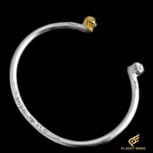 【NEW】K18 & SV 2 Skull Bracelet / Stop Light