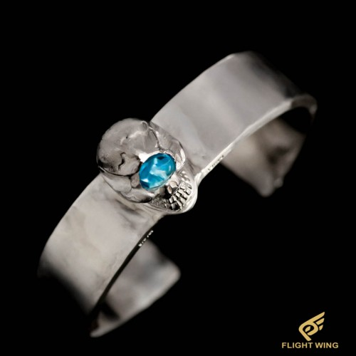 【NEW】Skull Bracelet and Bluetopaz Eye(M) / Stop Light