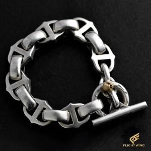 【NEW】8 Ball Bracelet and K18 Skull / Stop Light