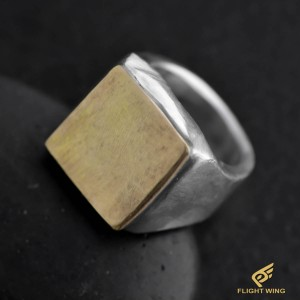 【NEW】Square Ring and K18 (#19) / Stop Light