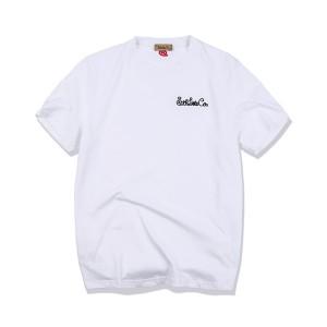 【NEW】Logo T-shirt White / Stop Light